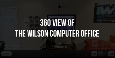 360 View of the Wilson Computer Office