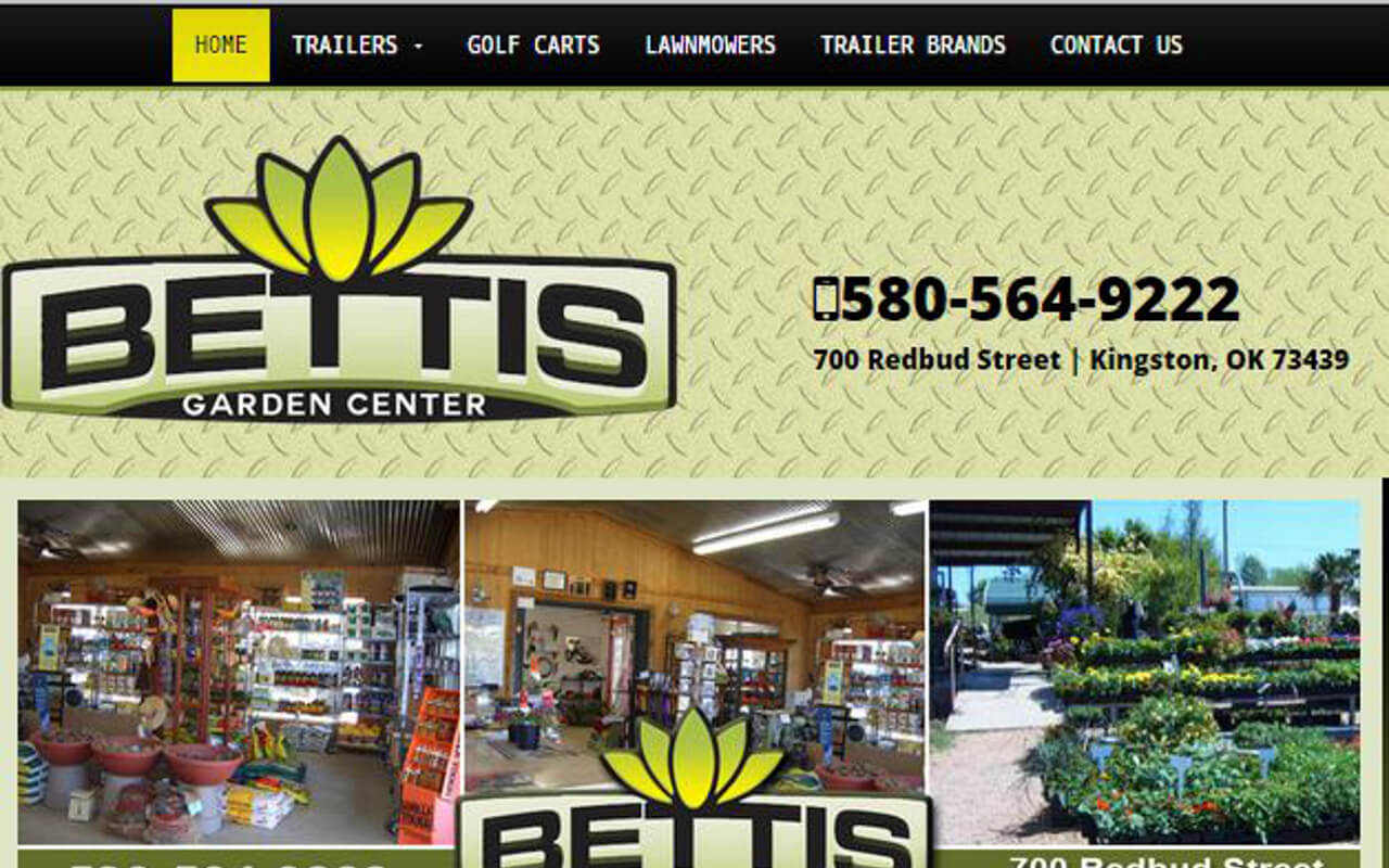 Bettis Garden Center Trailer