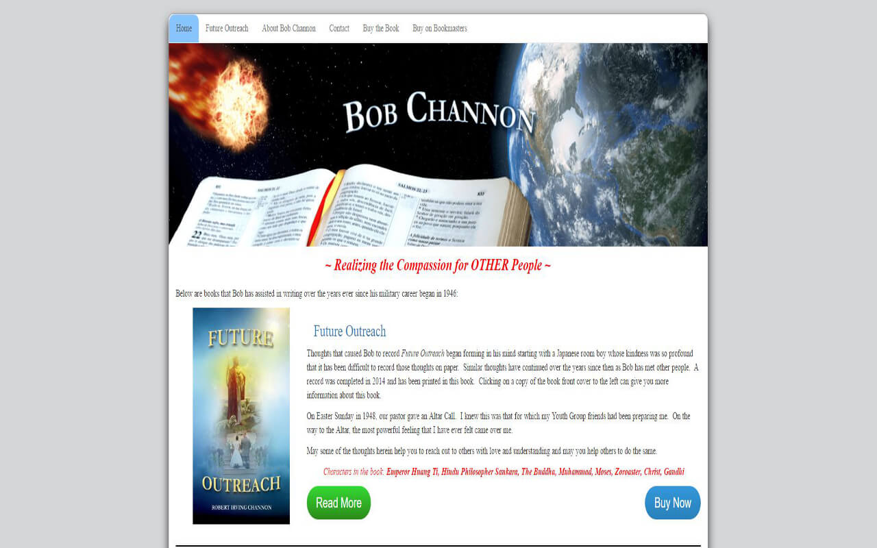 Wilson Computer Support helped the author, Bob Channon, promote his new release.
