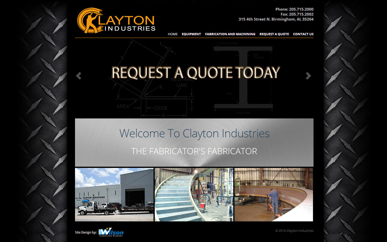 Clayton Industries supplies a broad range of industries with a wide variety of standard and unique services with an unusual flexibility of machine capability and professional people. If you develop the right kind of system, you have to have the right kind of people to make that system work.