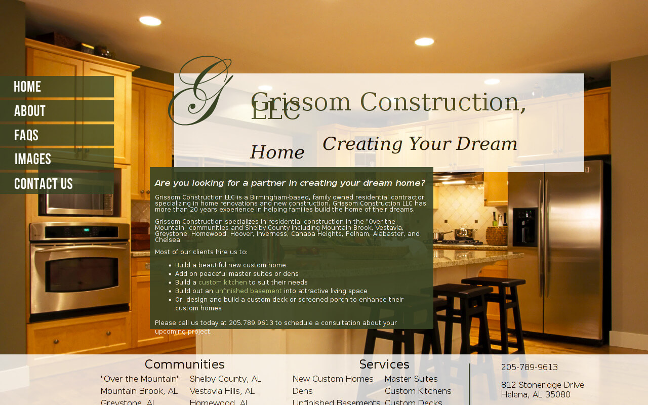 Grissom Construction, LLC.