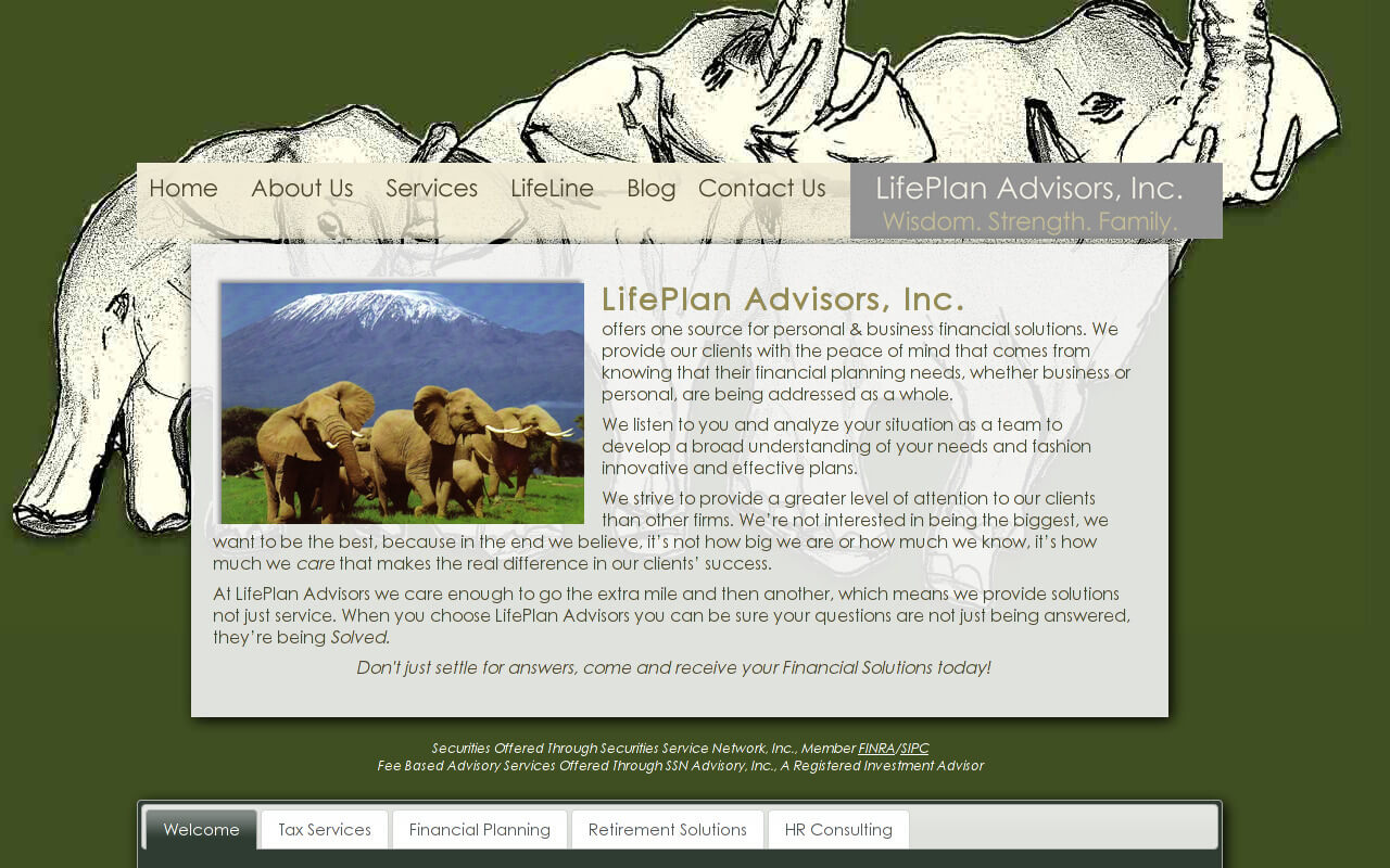 Life Plan Advisors, Inc. offers one source for personal & business financial solutions. We provide our clients with the peace of mind that comes from knowing that their financial planning needs, whether business or personal, are being addressed as a whole.