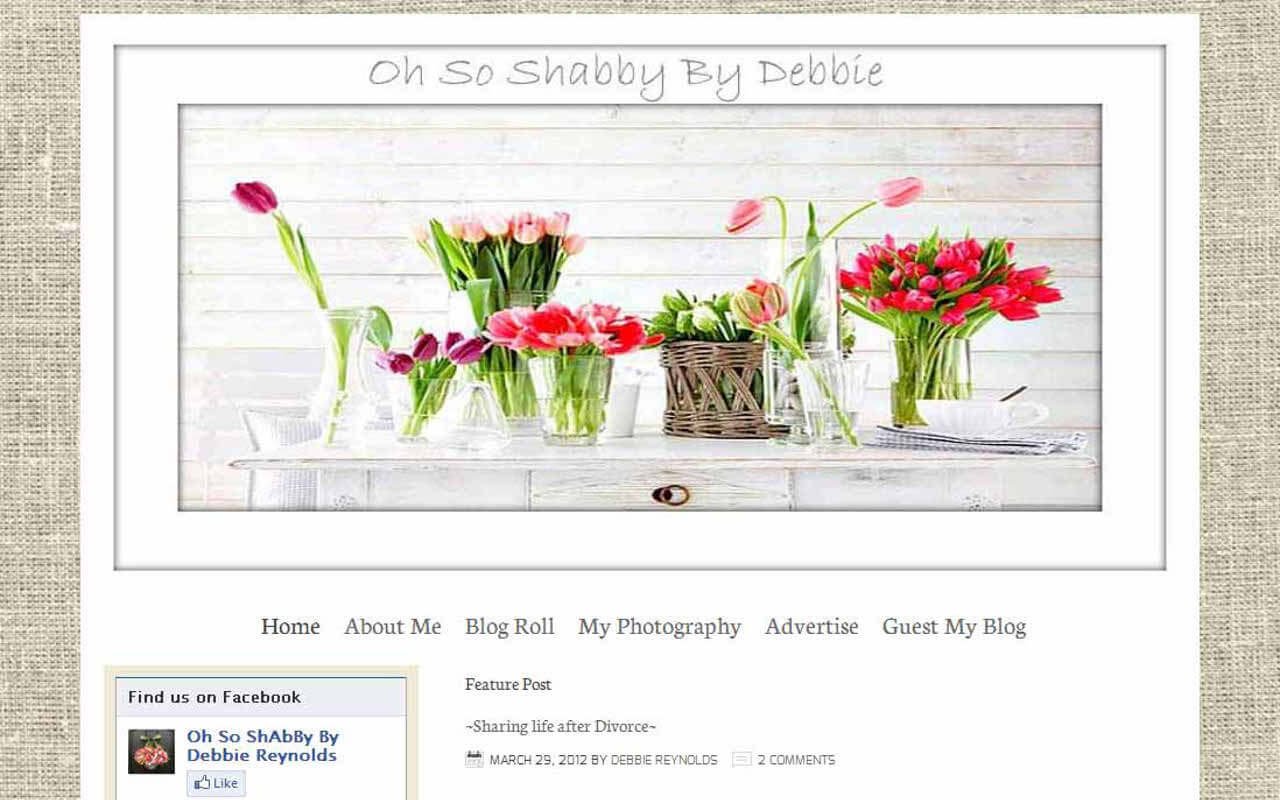 Oh So Shabby By Debbie