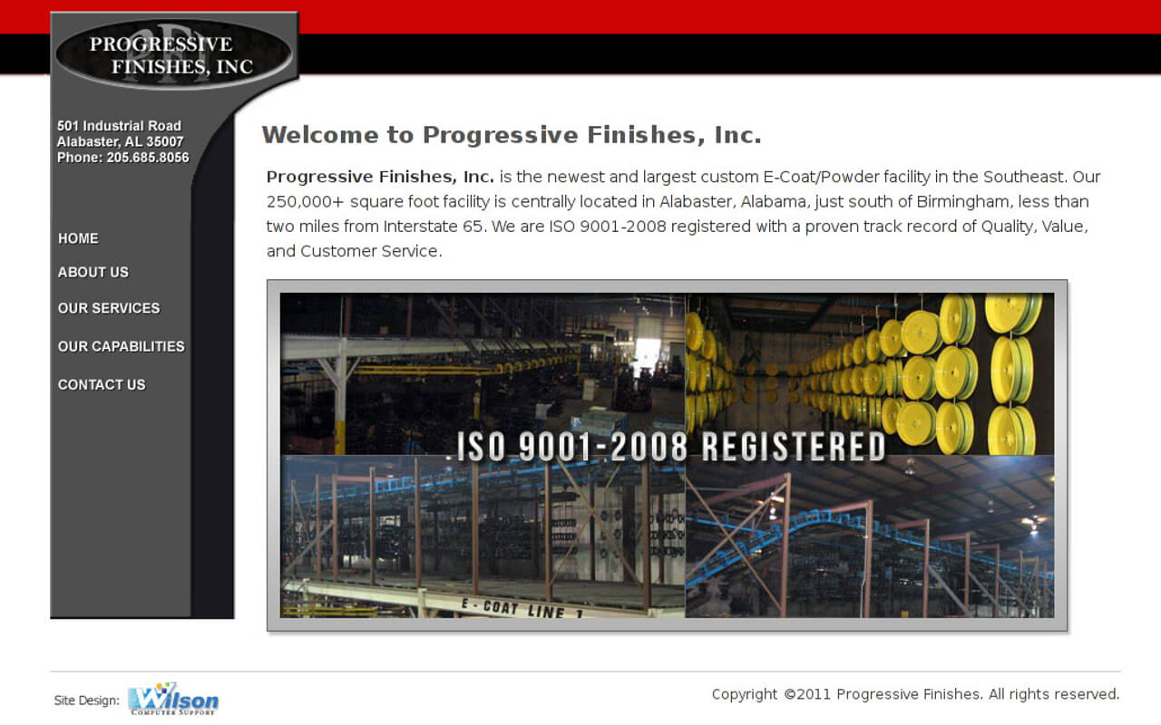 Progressive Finishes, Inc.