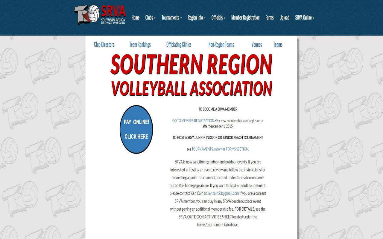 Southern Region Volleyball