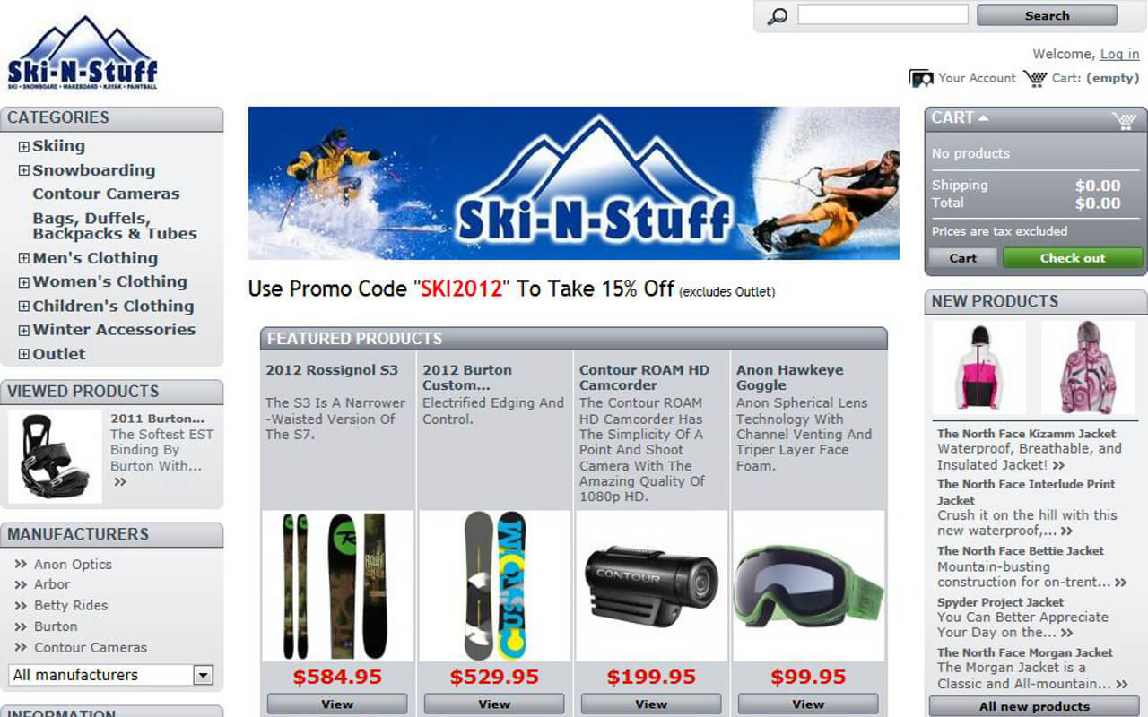 Founded in April of 1994, Ski-N-Stuff is the only full service ski and snowboard Pro-shop in Alabama.
