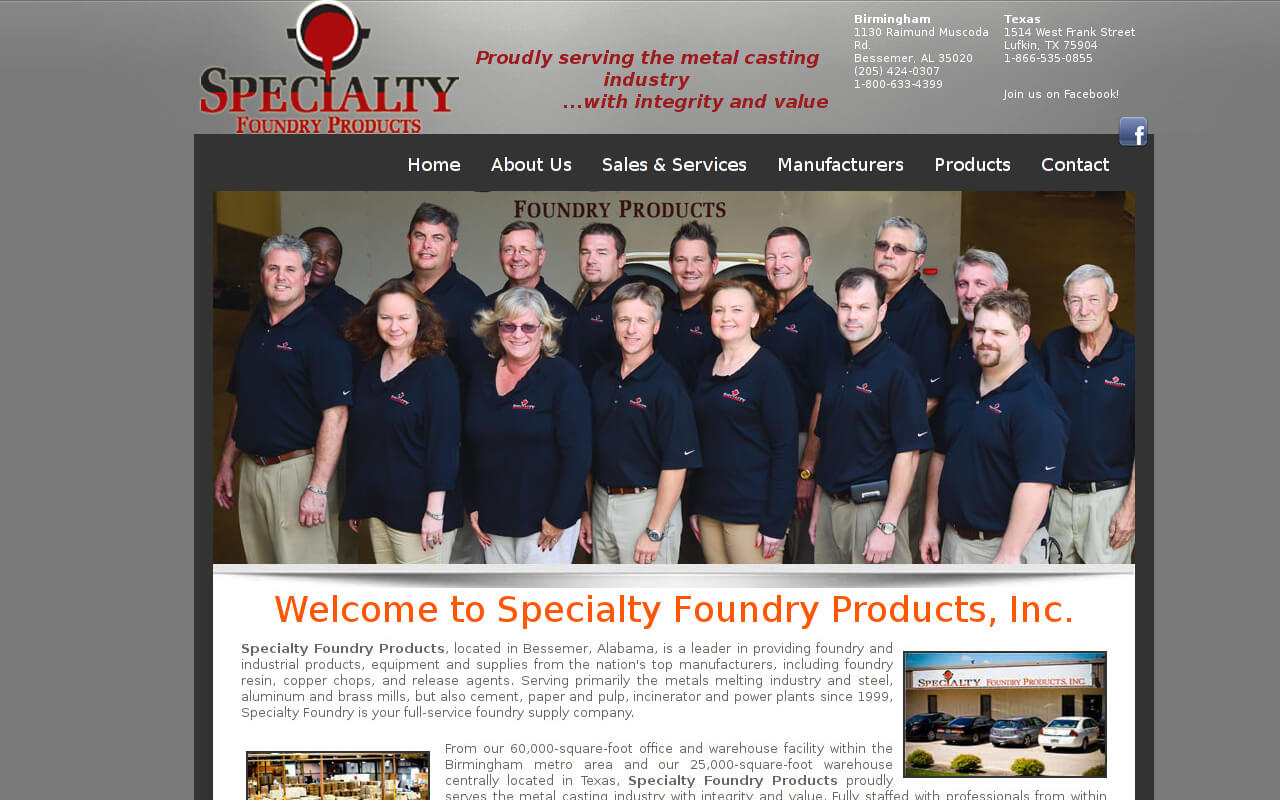 Specialty Foundry Products
